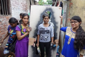 Kejriwal says she wanted to take the art she had created for the show to the streets of Kolkata so that the general public would be able to see the silhouettes. It also emerged out of a need to convey the magnitude of the number of young girls going missing into sexual slavery each year.