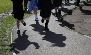 Pupils at St Ninians primary school in Stirling.