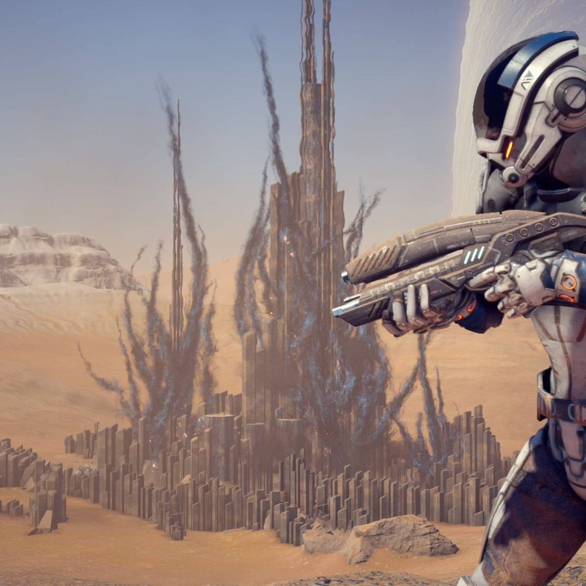 Mass Effect Andromeda What S Changed In The Universe Games The Guardian