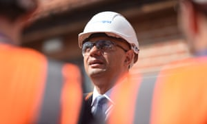 Sajid Javid looks on during a visit at the National Grid training centre near Newark. He said he was not expecting a recession 'at all'.