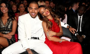 Chris Brown and Rihanna in 2013.