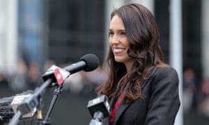 New Zealand's prime minister Jacinda Ardern makes a speech upon her arrival at parliament after a swearing-in ceremony at Government House on Thursday in Wellington