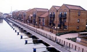 Docklands, London, 1988.