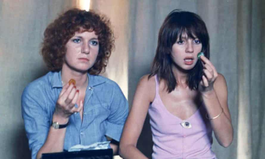 Dominique Labourier and Juliet Berto in Céline and Julie Go Boating.