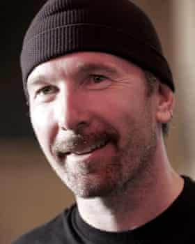 Casting a spell ... U2's the Edge.