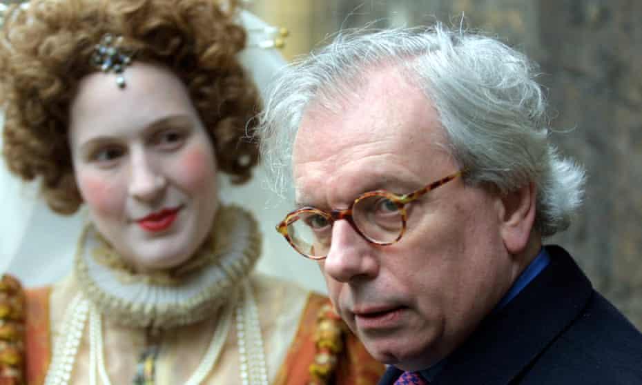 Historian David Starkey launching English Heritage's Royal Heritage programme in 2002.