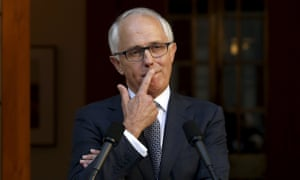 Australian Prime Minister Malcolm Turnbull listens to a question after announcing his new federal cabinet during a media conference at Parliament House in Canberra, Australia, September 20, 2015.