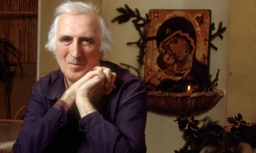 Jean Vanier in 1990. His initiative was prompted by visits to long-stay hospitals for people with learning disabilities. 'Huge concrete walls, 80 men living in dormitories and no work,' he said.