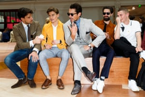 Oliver Cheshire at London Collections Men.