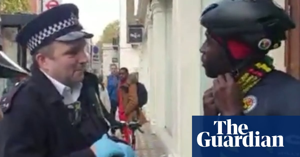 Black cyclists leader subjected to 'degrading' police drugs search