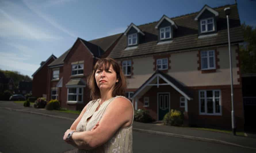 Jo Darbyshire, who bought her home in Bolton from Taylor Wimpey