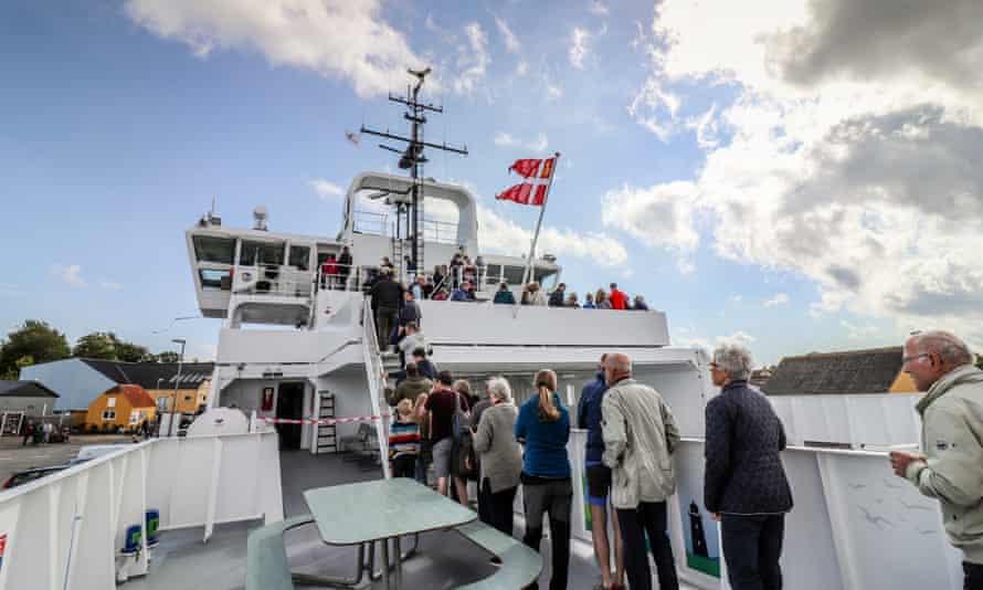 Ærøfærgerne - Ellens dåb --1-30 - Ellen electric ferry in Denmark