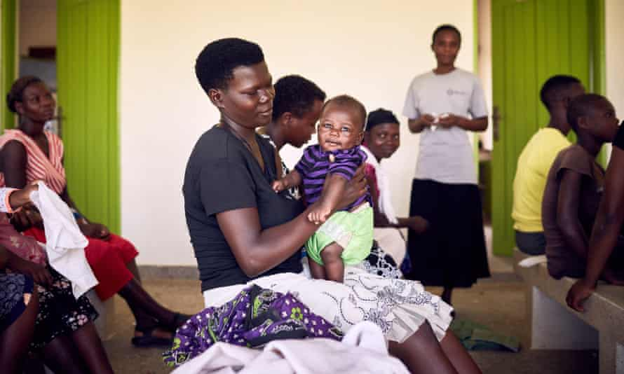 Rural residents in Uganda receive family planning counselling and treatments.