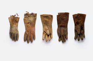 Rubber Gloves Stuart Haygarth photo arrangement