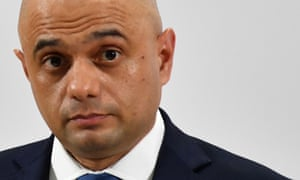 Sajid Javid at a campaign event in Bolton.