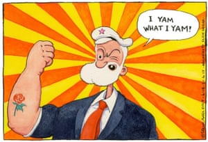 Popeye Corbyn, 21 April.
