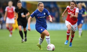 Chelsea's Fran Kirby says of her recovery: 'I am not going to heal overnight and it is a day-by-day process.'