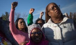 ferguson women protestors