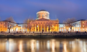 The Four Courts, Dublin.