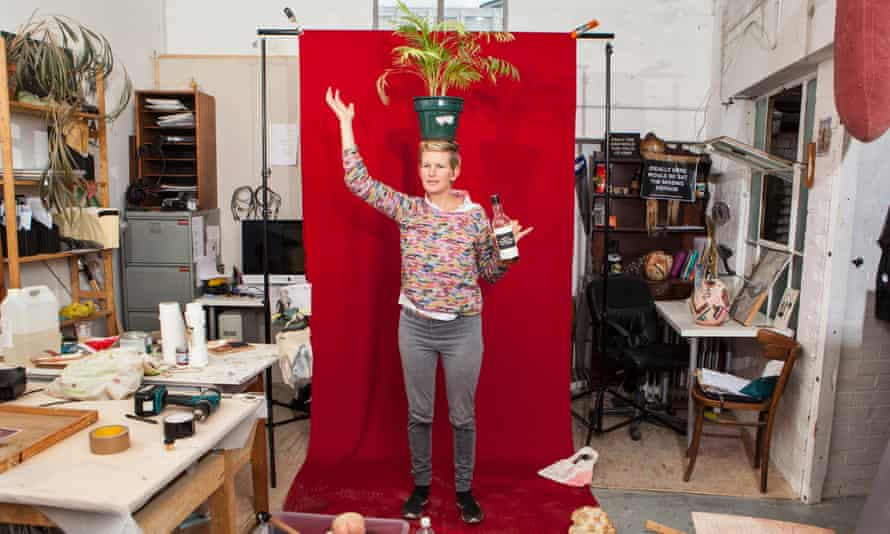Laure Prouvost in her east London studio