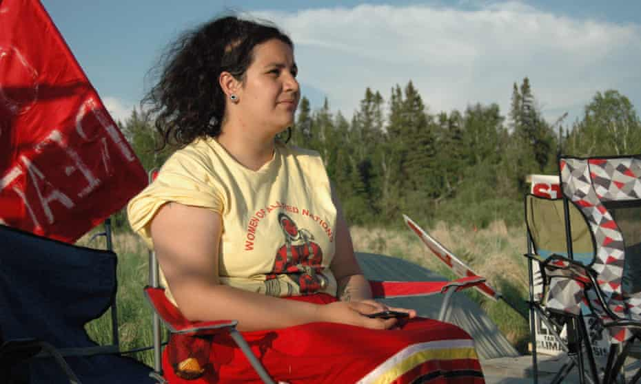 Taysha Martineau: 'There's multiple different ways that people are fighting this pipeline.'