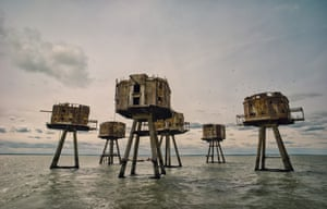 English history winner Red Sands Sea Forts, Thames Estuary, by Mark Edwards