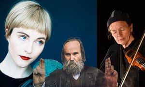 Intriguing fusions … Poliça, Lubomyr Melnyk, Laurie Anderson.