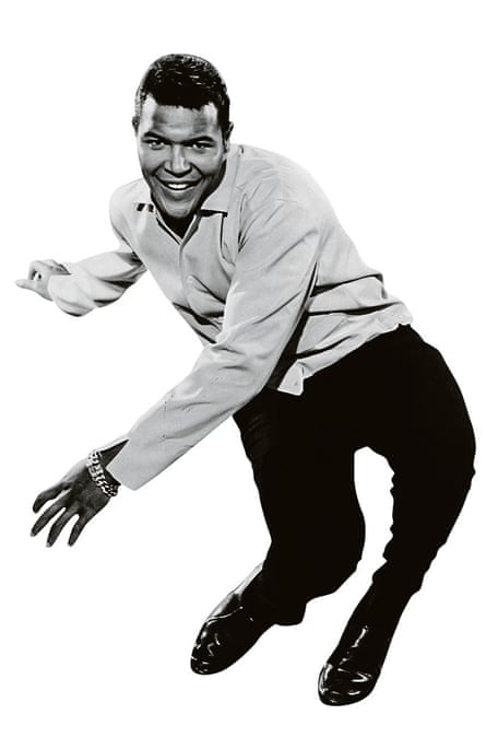 Chubby Checker doing The Twist