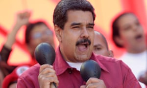 President Nicolás Maduro is accused of link to Brazil scandal.