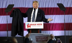 Donald Trump speaks at rally in Baton Rouge