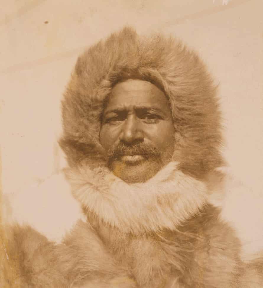 Matthew Henson in his Arctic gear in 1909.