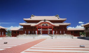 The Shuri castle, pictured here in 1993, was restored after the second world war.