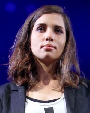 Nadya Tolokonnikova.