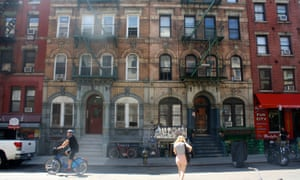 The section of St Marks Place featured on the Led Zeppelin album cover today