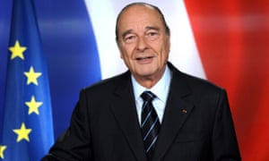 Chirac announces his departure from politics in March 2007