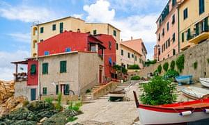 Marciana Marina, on Elba's north coast