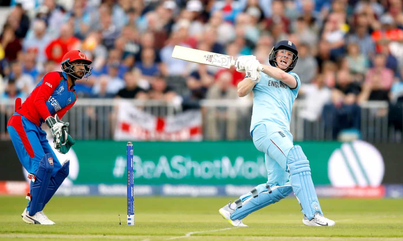 Eoin Morgan launches England to easy World Cup win over Afghanistan