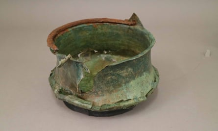 Vessel found at the site
