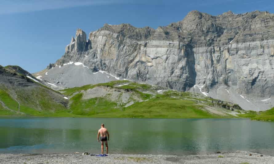 Lac d'Anterne, French Alps.
