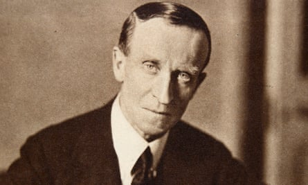 'A life apparently unshadowed by scandal or dishonour': John Buchan in 1935.