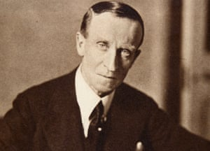 John Buchan, author of The Thirty-Nine Steps, where there's 'jeopardy amid the nice scenery'