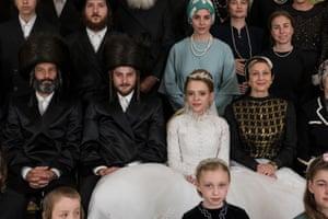 Esty in her Hasidic community on her wedding day.