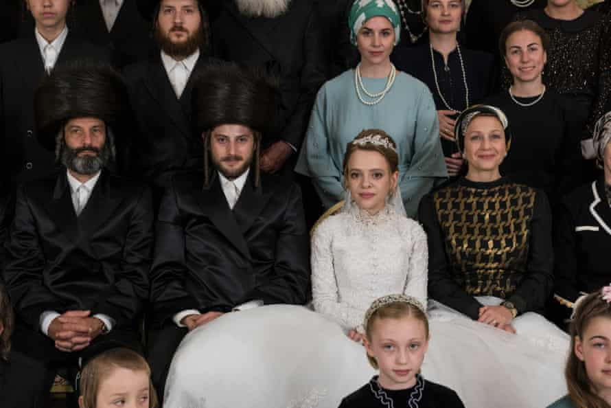Esty in her Hasidic community on her wedding day.