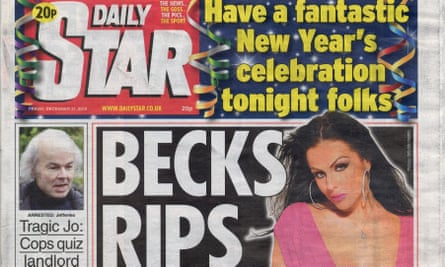 The Daily Star newspaper front page 31/12/2010