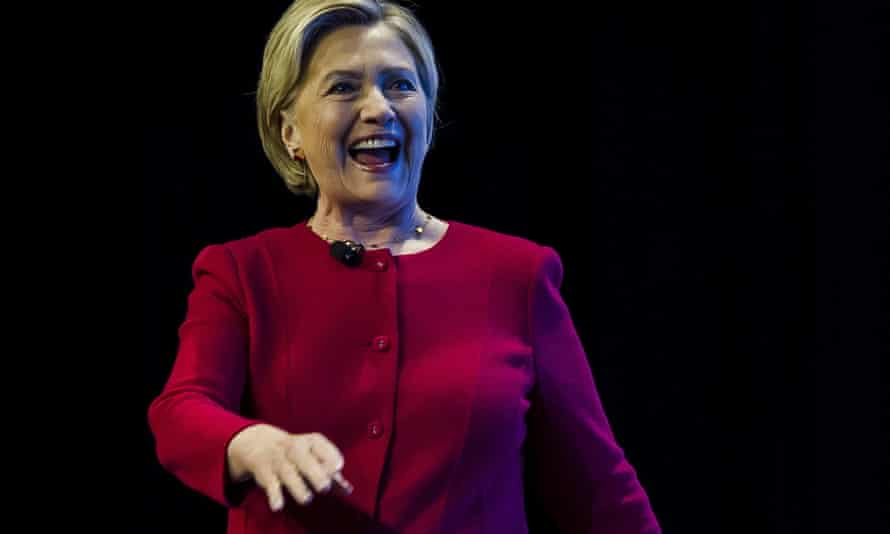 Hillary Clinton is 'as close to unbuttoned as she gets' in her memoir What Happened.