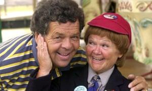 Ian and Janette Tough, aka The Krankies.