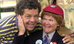 Ian and Janette Tough aka The Krankies