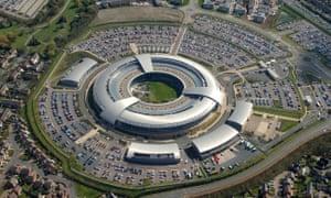 The GCHQ building in Cheltenham.