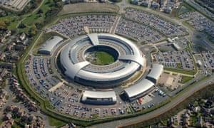 The GCHQ building in Cheltenham, UK