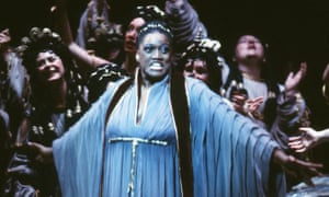 'An icon and a role model' … Jessye Norman in Les Troyens at the Metropolitan Opera, New York, in 1983.